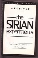 Doris Lessing – The Sirian Experiments